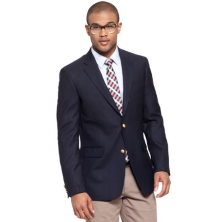 Image for SOLID BLUE BLAZER from Tommy Hilfiger USA