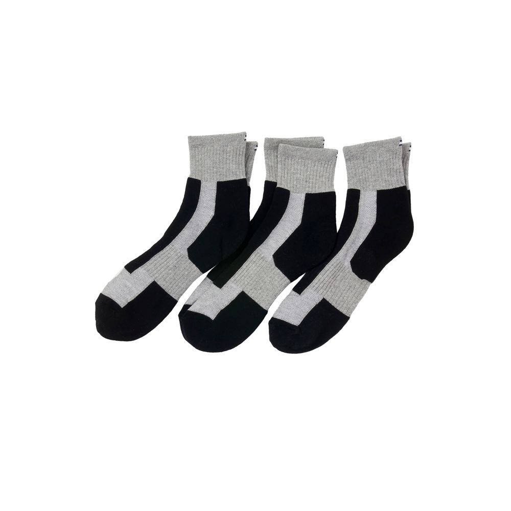 Image for QTR TOP 3 PK ATHLETIC SOCK from Tommy Hilfiger USA