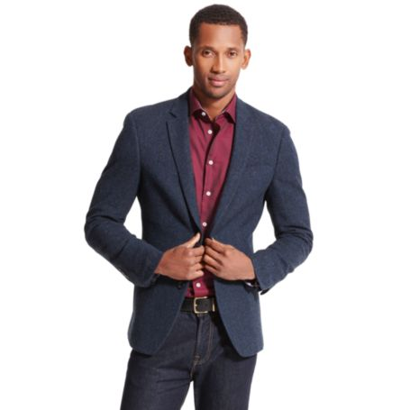 Image for SHETLAND HERRINGBONE BLAZER from Tommy Hilfiger USA
