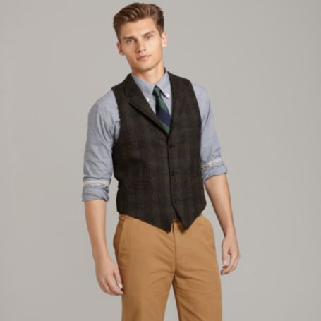 Image for PLAID VEST from Tommy Hilfiger USA