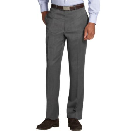 Image for GRAY SOLID SUIT PANTS from Tommy Hilfiger USA