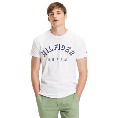 Tommy Hilfiger Signature Tee - Classic White - S
