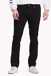 타미 힐피거 슬림핏 데님진 Tommy Hilfiger Black Slim Fit Jean,BLACK COMFORT