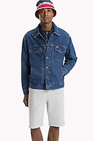 타미 힐피거 데님 청 자켓 Tommy Hilfiger Tommy Jeans XPLORE Jean Jacket,TOMMY CLASSICS MID BLUE RIGID