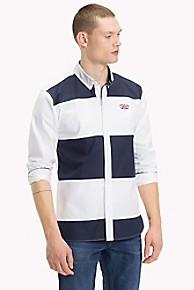 타미 힐피거 캐쥬얼 스트라이프 셔츠 Tommy Hilfiger Rugby Stripe Shirt