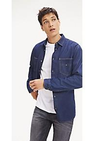 타미 힐피거 Tommy Hilfiger Denim Workwear Shirt,DARK INDIGO