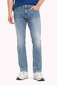 타미 힐피거 Tommy Hilfiger Vintage Wash Slim Fit Jean,LIGHT BLUE