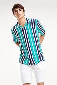 타미 힐피거 Tommy Hilfiger Stripe Camp Shirt