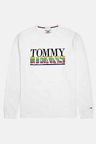 타미 힐피거 Tommy Hilfiger Multicolor Long-sleeved T-Shirt