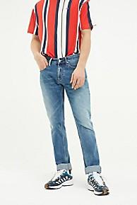 타미 힐피거 슬림핏 청바지 Tommy Hilfiger Faded Slim Fit Jean,LIGHTWASH BLUE