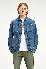 타미 힐피거 Tommy Hilfiger Recycled Cotton Denim Jacket,TJ SAVE MID BL RIG