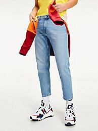 타미 진스 TOMMY JEANS 100% Recycled Relaxed Tapered Fit Jean,LIGHTWASH DENIM BLUE