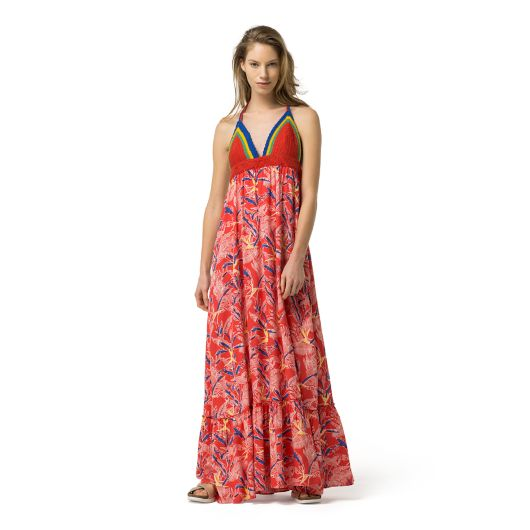 HAWAIIAN MAXI DRESS | Tommy Hilfiger