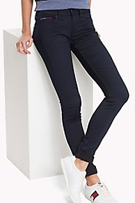 타미 힐피거 Tommy Hilfiger Low Rise Skinny Fit Jean,BOOGIE BLUE STRETCH