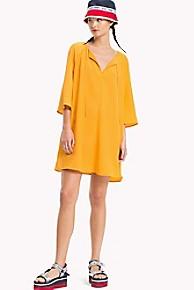 타미 힐피거 Tommy Hilfiger Modern Tunic Dress,BUTTERSCOTCH