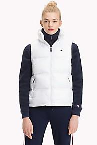 타미 힐피거 푸퍼 조끼 Tommy Hilfiger Tommy Classics Puffer Vest,BRIGHT WHITE