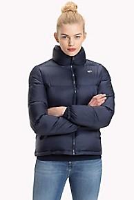 타미 힐피거 푸퍼 패딩 Tommy Hilfiger Tommy Classics Puffer Jacket,BLACK IRIS