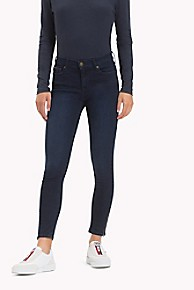 타미 힐피거 청바지 (스키니핏) Tommy Hilfiger Mid Rise Skinny Fit Jean,AVENUE DARK BLUE