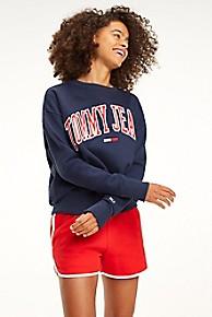 타미 힐피거 Tommy Hilfiger Collegiate Sweatshirt