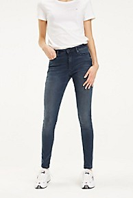 타미 힐피거 Tommy Hilfiger High Rise Skinny Fit Jean,P러쉬 LUSH CLOUD