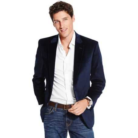 Image for VELVET BLAZER from Tommy Hilfiger USA