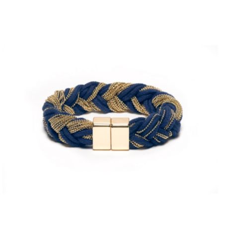 Image for CORD AND CHAIN BRACELET from Tommy Hilfiger USA