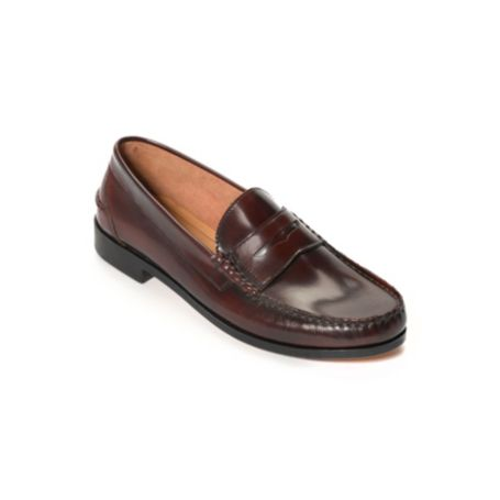 Image for LEATHER PENNY LOAFER from Tommy Hilfiger USA