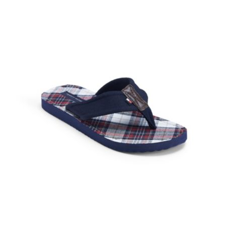 Image for BOSTON PLAID FLIP FLOP from Tommy Hilfiger USA