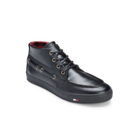 Image for HIGH TOP BOAT SNEAKER from Tommy Hilfiger USA