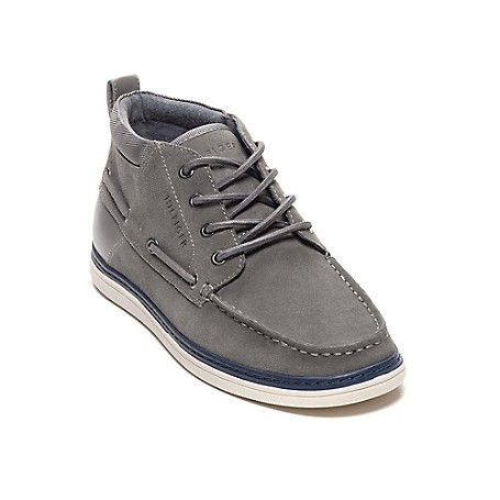 Tommy Hilfiger Deck Shoes - Grey - 11M Outlet Exclusive Style.Upper: 85% Suede + 10% Synthetic + 5% Textile ; Outsole: RubberImported.