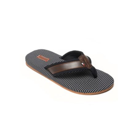 Image for LEATHER TRIM FASHION FLIP FLOP from Tommy Hilfiger USA