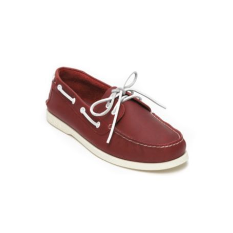 Image for LEATHER BOATSHOE from Tommy Hilfiger USA
