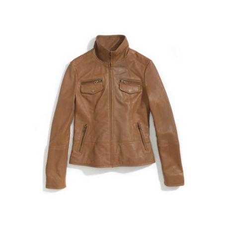 Image for CLASSIC LEATHER JACKET from Tommy Hilfiger USA