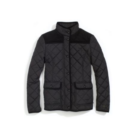 Image for DOUBLE POCKET SHORT QUILTED JACKET from Tommy Hilfiger USA