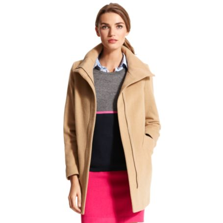 Image for WOOL OVERSIZED COLLAR COAT from Tommy Hilfiger USA