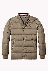 타미 힐피거 보이즈 푸퍼 패딩 Tommy Hilfiger TH Kids Sleek Puffer Jacket,WALNUT