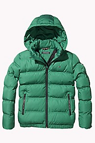 타미 힐피거 보이즈 푸퍼 패딩 Tommy Hilfiger TH Kids Hooded Puffer,SHADY GLADE