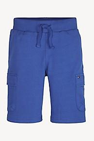 타미 힐피거 반바지 Tommy Hilfiger TH Kids Lightweight Drawstring Short,BLUE QUARTZ