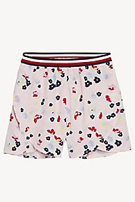 타미 힐피거 Tommy Hilfiger TH Kids Floral Short,ALMOND BLOSSOM