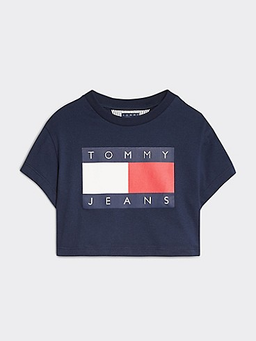 타미 힐피거 Tommy Hilfiger TJ Kids Flag T-Shirt