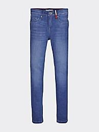 타미 힐피거 Tommy Hilfiger TH Kids Skinny Jean,BREEZE BLUE STRETCH