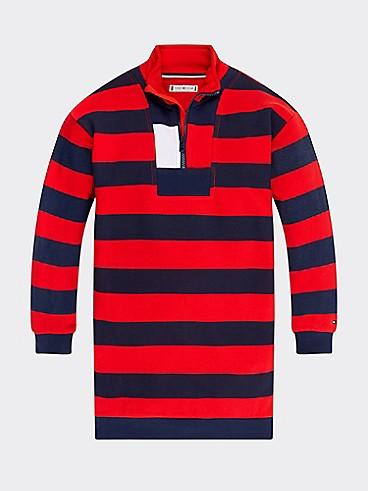 타미 힐피거 Tommy Hilfiger TH Kids Repurposed Stripe Dress
