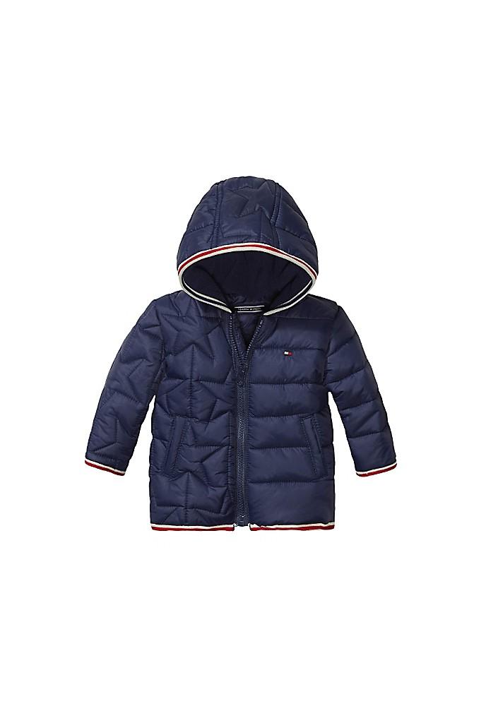 tommy hilfiger th baby hooded jacket ebay. Black Bedroom Furniture Sets. Home Design Ideas