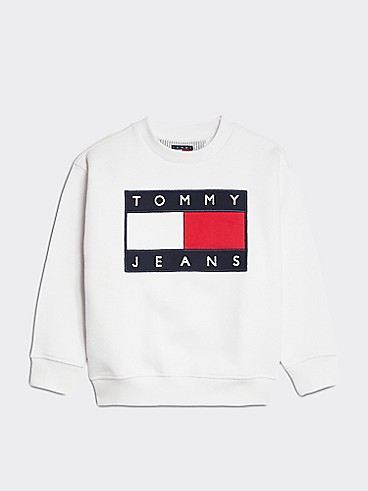 타미 힐피거 Tommy Hilfiger TJ Kids Flag Sweatshirt