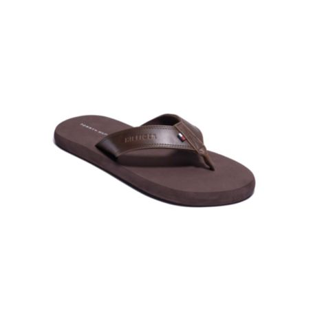 Image for LEATHER DETAIL FLIP FLOPS from Tommy Hilfiger USA