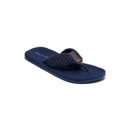 Image for BRAIDED THONG FLIP FLOPS from Tommy Hilfiger USA