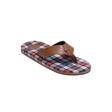Image for FABRIC LINED FLIP FLOPS from Tommy Hilfiger USA