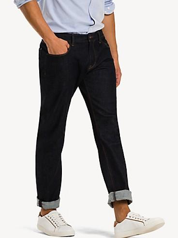 타미 힐피거 클린 린스 데님 진, 스트레이트 (슬림핏) Tommy Hilfiger Slim Fit Clean Rinse Jean, NEW CLEAN RINSE