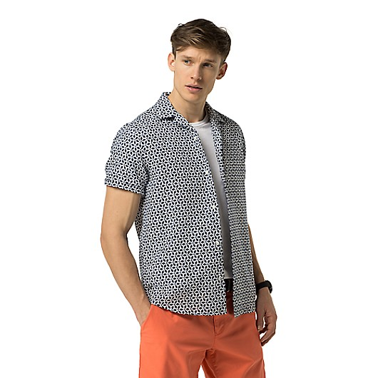 SLIM FIT SHORT-SLEEVE SHIRT | Tommy Hilfiger