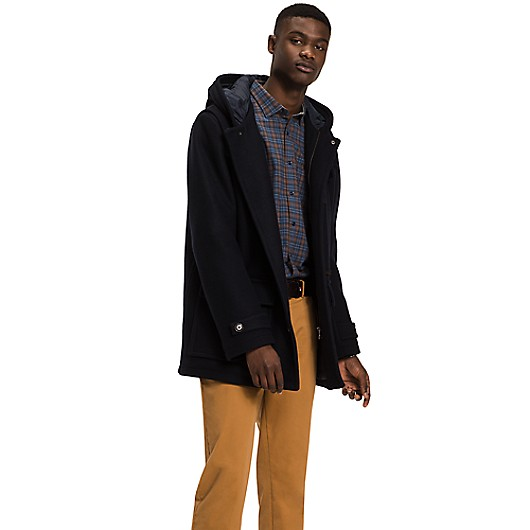 WOOL DUFFLE COAT | Tommy Hilfiger